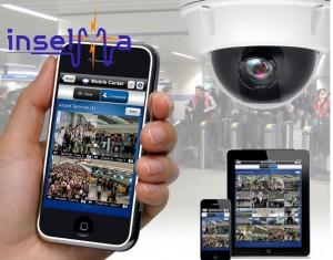 movil con camaras de vigilancia en tiempo real